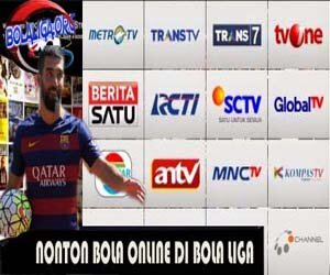 Nonton Bola Online Melalui TV Live Streaming Indonesia